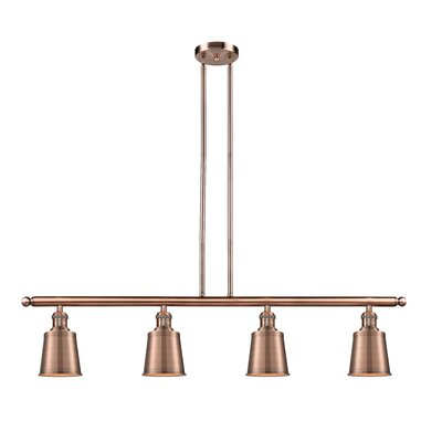 Carn 4-Light Kitchen Island Pendant Finish: Antique Copper