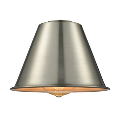 7 Metal Empire Pendant Shade Color: Brushed Satin Nickel