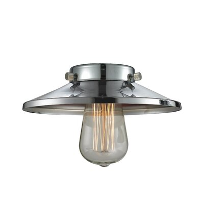 8 Metal Empire Pendant Shade Finish: Polished Chrome