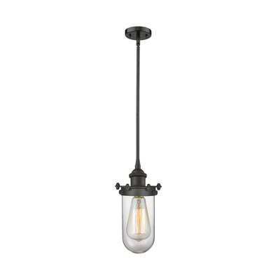 Raye 1-Light Mini Pendant Finish: Oil Rubbed Bronze