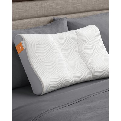 Contour Side to Back Memory Foam Queen Pillow