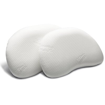 Curve Memory Foam Pillow Size: Queen