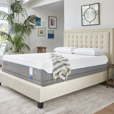 Cloud Supreme Breeze 11 Plush Memory Foam Mattress with Ergo Adjustable Foundation