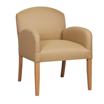 Armchair Color: Khaki, Color: Medium Lanty Oak