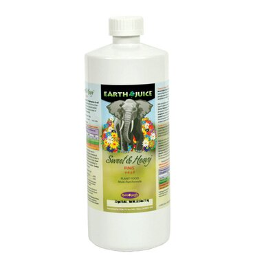Hydrofarm Earth Juice Sweet and Heavy Finis Fertilizer - Size: 1 Quart at Sears.com