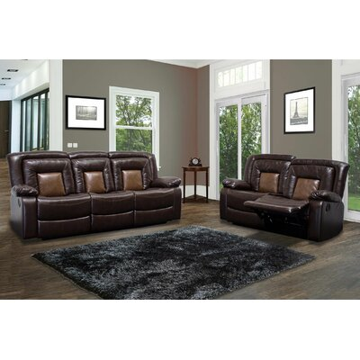 BestMasterFurniture 8479 2 Pcs Set Sofa and Loveseat Set