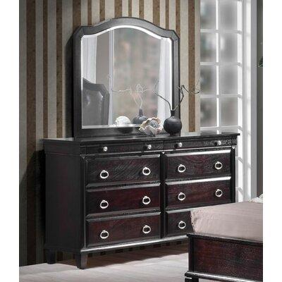 Tiffany 6 Drawer Standard Dresser