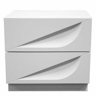 Madrid 2 Drawer Nightstand