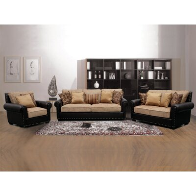 BestMasterFurniture RH02 3 Pcs Living Room Set 3 Piece Living Room Set