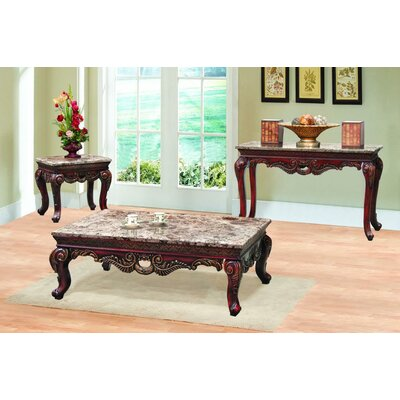 Denmark 3 Piece Coffee Table Set