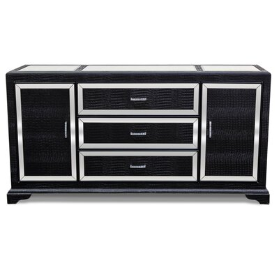 Sideboard Finish: Black
