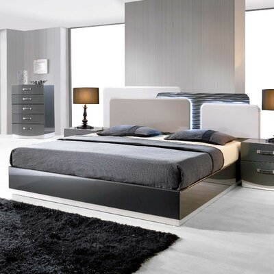 Valencia Platform Bed Size: California King