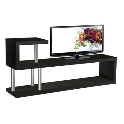 Hollow TV Stand Finish: Black