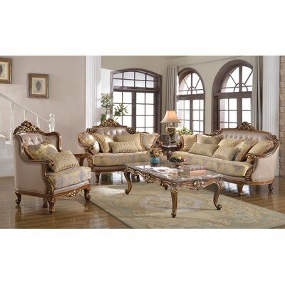Traditional Sofa and Chair Set