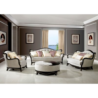 BestMasterFurniture 1503 4 Pcs Set 4 Piece Living Room Set