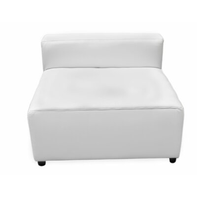Convertible Chair Color: White
