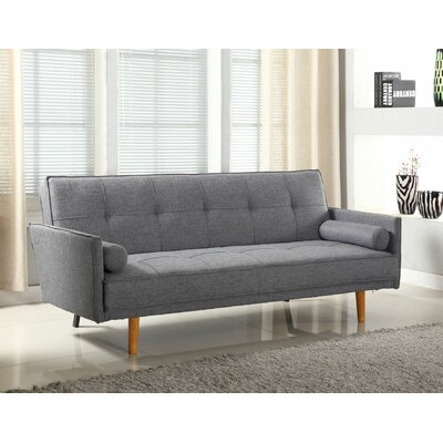 Convertible Sofa Upholstery: Gray