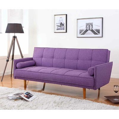 Convertible Sofa Upholstery: Purple