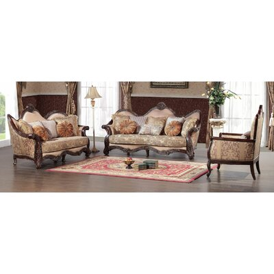 BestMasterFurniture 389 3 Pcs Set 3 Piece Living Room Set