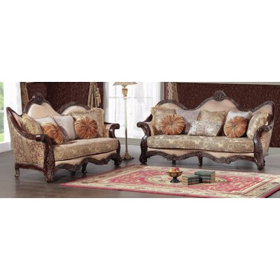 BestMasterFurniture 389 2 Pcs Sofa and Loveseat 2 Piece Sofa and Loveseat Set