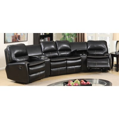 BestMasterFurniture 8500 5 Pcs Sectional Leather Sectional