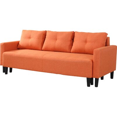 BestMasterFurniture L33306 Orange Futon and Mattress Upholstery
