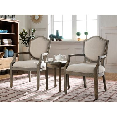 3 Piece Living Room Arm Chair Set