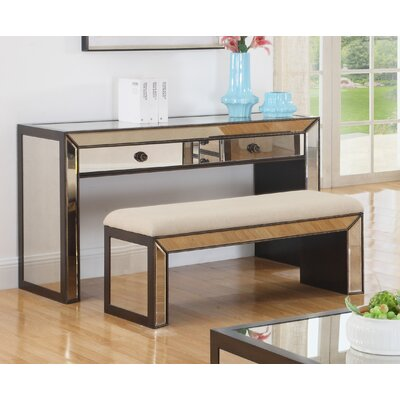 Console Table and Bench Set