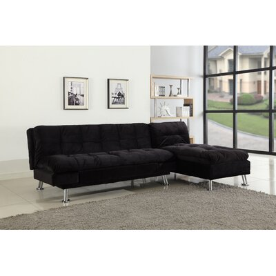 BestMasterFurniture LV15 2 Pcs Futon & Chaise Futon Sleeper Sofa and Lounge Chaise