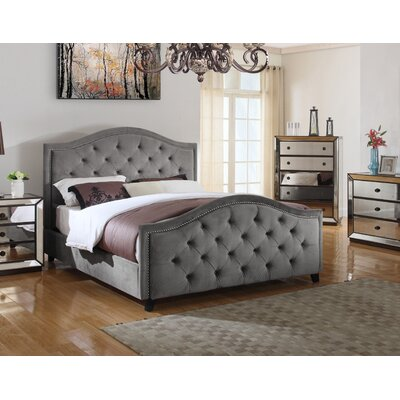 Upholstered Platform Bed Size: California King