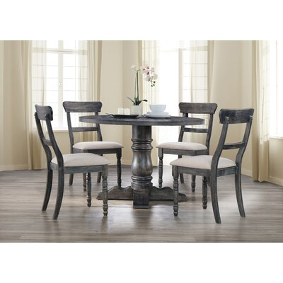 Silverman 5 Piece Dining Set Finish: Weathered Gray