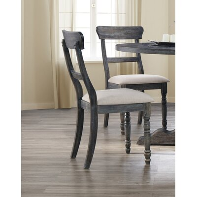 Silverman Side Chair Finish: Weathered Gray