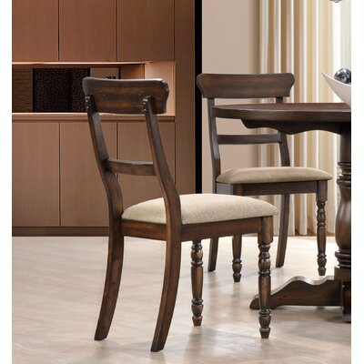 Selena Side Chair Finish: Burnish Oak