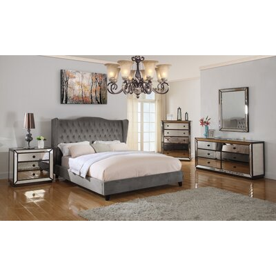 Prince Upholstered Panel Configurable Bedroom Set