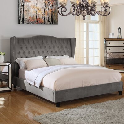Prince Upholstered Panel Bed Size: Eastern King