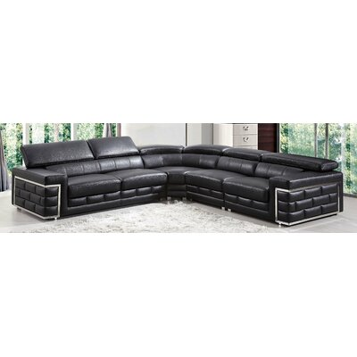 G378 Black BestMasterFurniture Black Sectionals