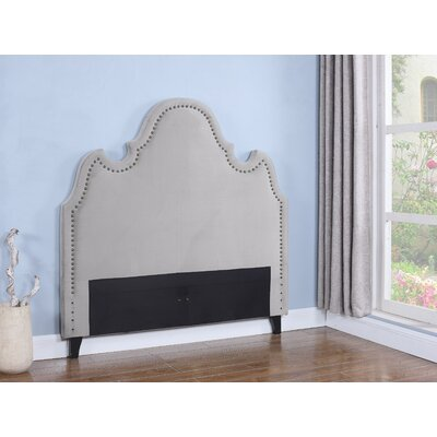 Upholstered Panel Headboard Size: King