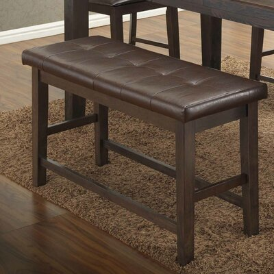 Faux leather Dining Bench