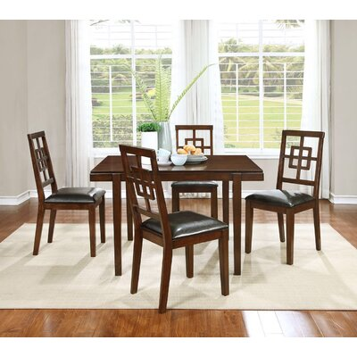 Cherry 5 Piece Dining Set