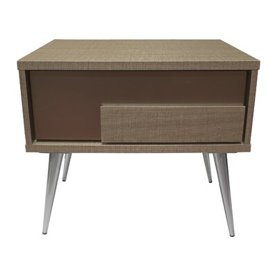 Brazil 1 Drawer Nightstand