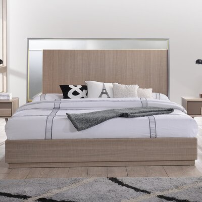 Brazil Platform Bed Size: King