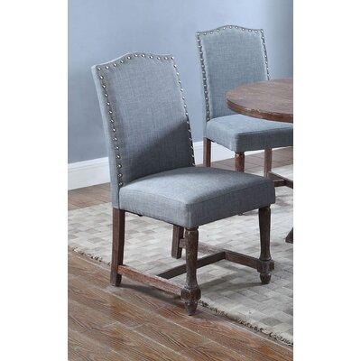 Side Chair Upholstery: Eton Blue