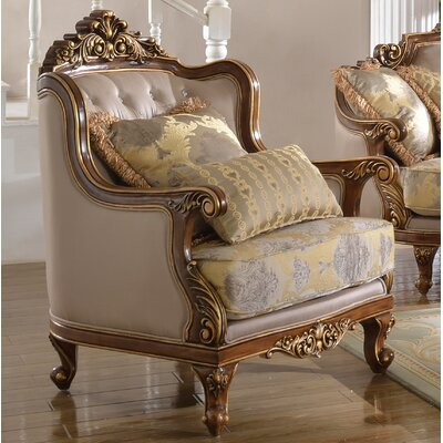 Traditional Living Room Wing back Chair
