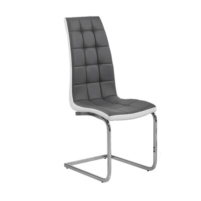 Maddox Side Chair Upholstery: Gray