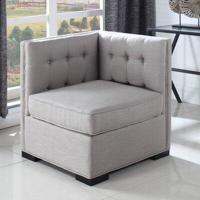 Armchair Upholstery: Silver Gray