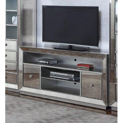 Mirrored 60 TV Stand