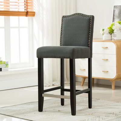 29 Bar Stool Upholstery: Dark Gray