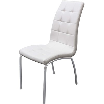 UDT372 Side Chair Upholstery: White