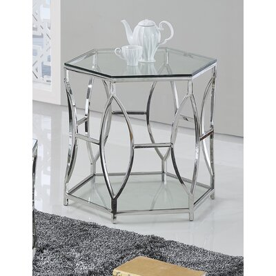 Octagon End Table