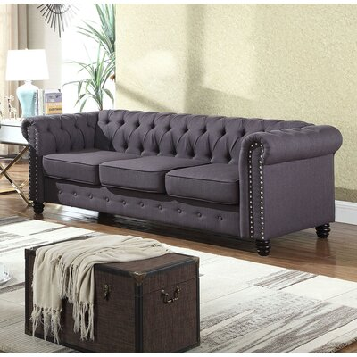 Swissvale Sofa Upholstery: Klein Charcoal